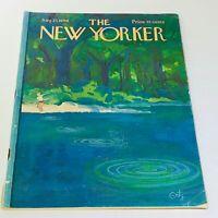 The New Yorker: August 27 1966 Full Magazine/Theme Cover Arthur Getz