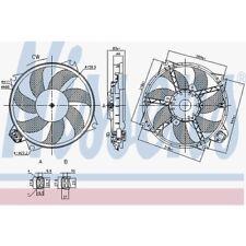 Nissens Lüfter, Motorkühlung Renault Grand ScÉnic Iii,Megane Cc,Megane 85989