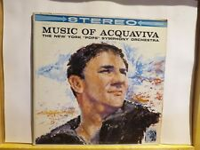 MUSIC OF ACQUAVIVA NEW YORK POPS SYMPHONY ORCHESTRA MGM STEREO LP 3226 BEAUTY