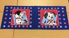 Disney - 101 Dalmatians Cojín panel -100%Algodón- Tejido PANELES