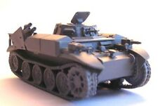 "Milicast BG210 1/76 Resin WWII German Flammpanzer II Ausf D ""Flamingo"""