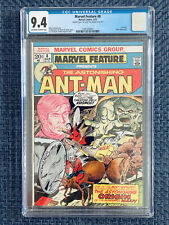 MARVEL FEATURE #8 CGC 9.4 (1973) DOUBLE COVER!! NM  1st App Wasp in flashback