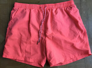 Primark Cederwood Swim shorts  Fluorescent Red Excellent Condition