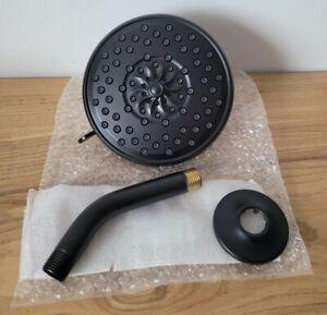 Peerless  Xander PTT14219-BL Wall Mount Showerhead Kit In Matte Black