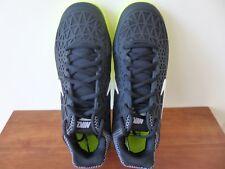 Women's Nike Zoom Cage 2 Tennis Shoes 705260 001 Black/Volt Size 8