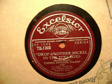 EXCELSIOR 78 RECORD TR136/TIMMIE ROGERS/FLA-GA-LA-PA/DROP ANOTHER NICKEL/ EX