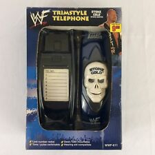 Stone Cold Steve Austin WWF Trimstyle Telephone 1999 Collectible Wrestling Skull