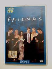 DVD Film Friends Le grandi serie Tv Sorrisi e Canzoni Stagione 8 Episodi 13-18