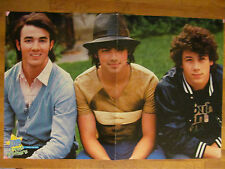 The Jonas Brothers, Two Page Centerfold Poster, David Henrie, Orlando Bloom