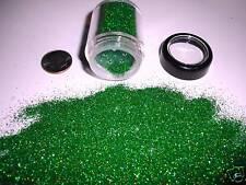 D00249  PREMIUM Grade Ultra Fine Glitter - Green,Green