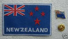 New Zealand National Flag Pin and Patch Embroidery