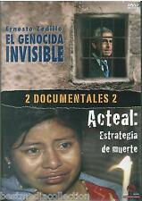 Ernesto Zedillo El Genocida Invisible / Acteal De Muerte DVD NEW 2 En 1 SEALED