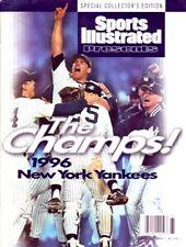 1996 John Wetteland New York Yankees Dogpile Commemorative Sports Illustrated