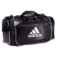 adidas DEFENDER Training DUFFEL Bag GYM Fitness Soccer Travel Brand New BLACK