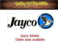 580mm older model replacement repair Jayco Caravan Sticker Retro Decal New