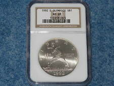 1992-D Olympics Commemorative Silver Dollar NGC MS69 B7340