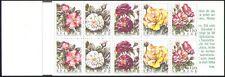 Sweden 1994 Roses/Flowers/Plants/Nature 10v bklt (s4105)