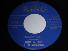 Hank Ballard & The Midnighters: Shaky Mae / I Love And Care For You 45