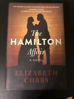 """The HAMILTON Affair"" A Novel by Elizabeth Cobbs - 2016 Hardcover 1st Edition?"
