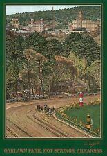 Oaklawn Park Hot Springs Arkansas, Horse Racing Racetrack, Gaming, AR - Postcard