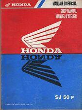 (42) REVUE TECHNIQUE MANUEL ATELIER MOTO HONDA SJ 50 p