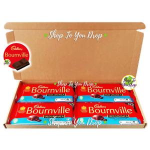 🎁4 Cadbury Bournville Old Jamaica Chocolate Personalised Hamper Gift Box Bars🍫