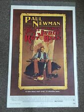 The Life And Times Of Judge Roy Bean Paul Newman 1972 Movie Poster Art Amsel