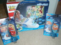 Disney TOY STORY  Storytime Theater Projector Wireless INCLUDES TOY ST & 2 EXTRA