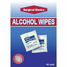 * Surgical Basics Alcohol Wipes 20 Pack Cleansing Pads External Use Only