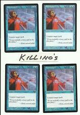 MTG - 4x Counterspell Tempest, near mint, free shipping
