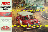 Airfix Mini Cooper Monte Carlo Rally A3 size Poster Advert Sign Slot Car 1967