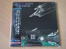 """Jean Luc Ponty """"Cosmic Messenger""""  Japan mini LP CD"""