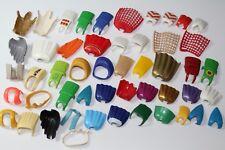 Playmobil 50 unidades figuras abrigo capa oeste colección lot 3 colección 0,07 kg