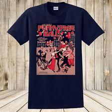 New At the Funny Page Ball T-Shirt Antique Sheet Music Art Dancing Cartoon Comic