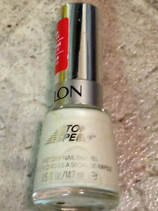 NEW REVLON NAIL POLISH STONE WASH WHITE FULL SIZE LACQUER
