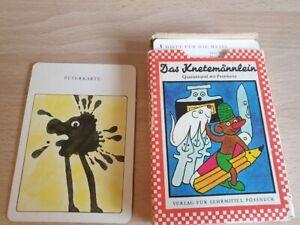 Kartenspiel   DDR, Das Knetemännchen , Altenburger Spielkarten