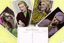 More details for picturegoer colourgraph 1930s colour ☆ film star ☆ postcards #c281 to #c350