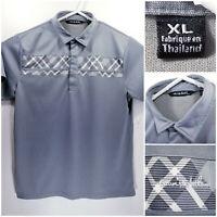 Travis Mathew Mens XL Golf Shirt Polo Green Polyester