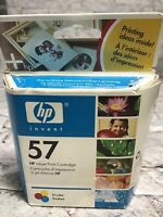 Genuine HP 57 Tri-color Ink Cartridge  C6657AN Factory Sealed