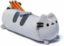 GUND Pusheen Cat Plush Stuffed Animal Accessory Pencil Case, Grey, 8.5""
