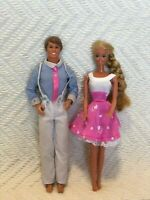 Vintage Ken and Barbie Dolls Mattel Inc. 1968