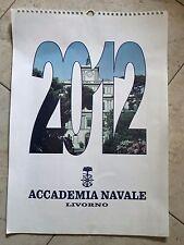 Calendario Storico 2012 Forze Armate Collezione Accademia Navale Livorno