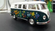 1962 Vw Volkswagen Classical Bus green kinsmart car toy model 1/32 scale metal
