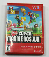 New Super Mario Bros. Wii (Nintendo Wii, 2009)  TESTED Complete