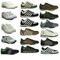 K Swiss Mens Trainers Leather Lace Up Shoes Sports CasuaL Only 5.5 6  7 Left