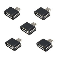 5pcs Mini Micro USB Male to USB 2.0 Female Adapter OTG Converter For Android KY