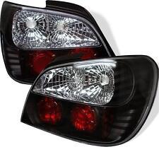 Pair Altezza Black Tail Lights 4 Door Subaru Impreza WRX Sti 2002-2003 NO Wagon