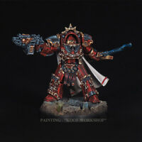 Warhammer 40K Blood Angels Legion Praetor in Tartaros, NMM style of painting