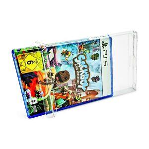 Schutzhüllen Playstation 5 Spiele in OVP 0,3 oder 0,5 mm game protectors box PS