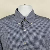 Vineyard Vines Slim Fit Murphy Blue Whale Mens Dress Button Shirt Size Small S